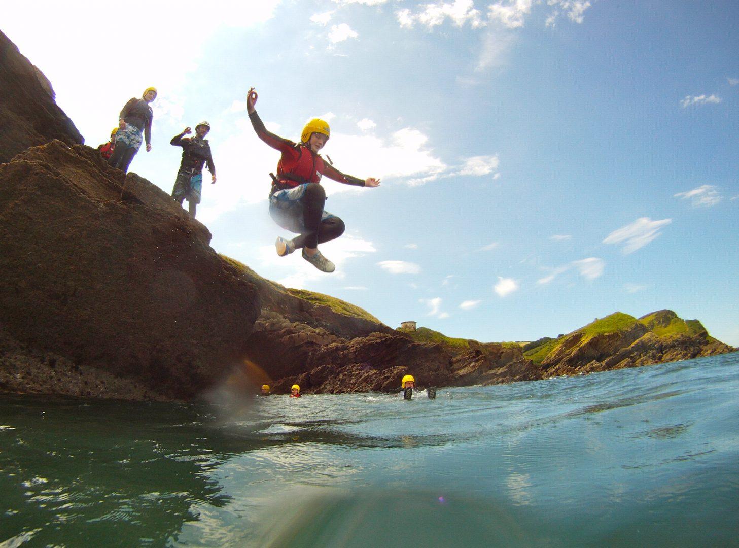 Coasteering North Devon - Exmoor Adventures