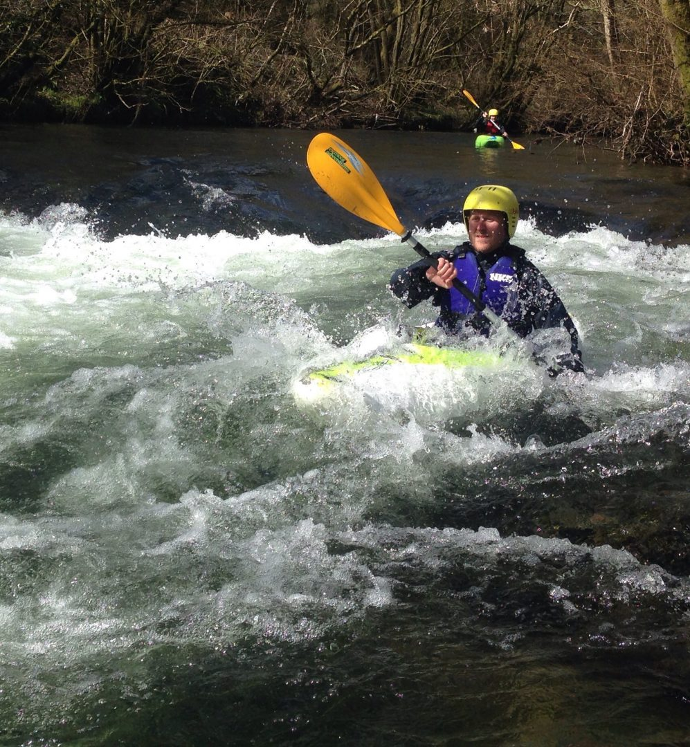 River Kayaking on Exmoor