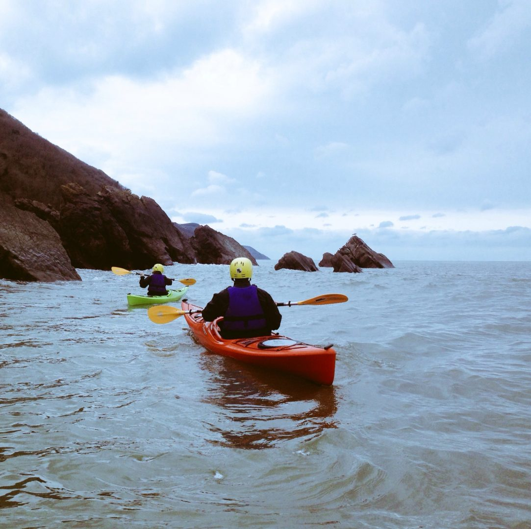 Sea Kayaking Exmoor Coast