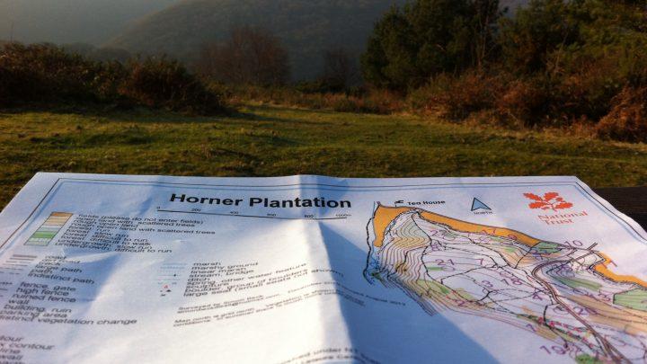 Orienteering on Exmoor