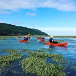 Kayaking at Porlock Bay