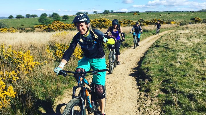 Guided MTB rides on Exmoor