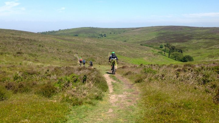 Mountain Biking on the Quantock Hills