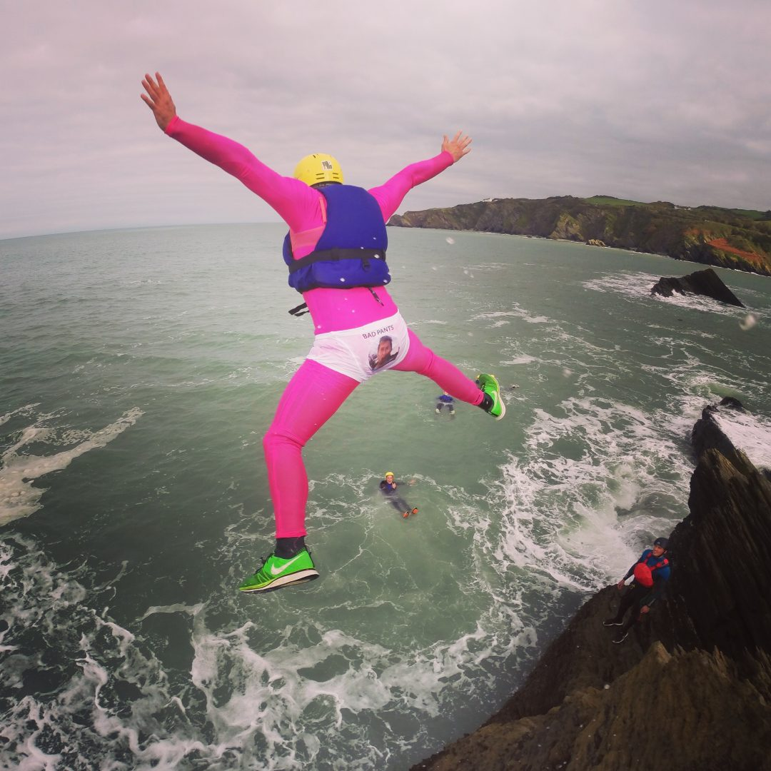 Stag Party Coasteering North Devon