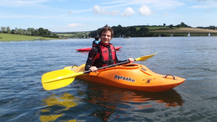 Kayaking on Exmoor