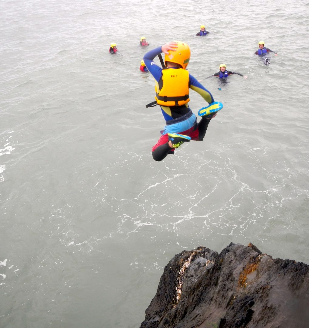 Family Coasteering North Devon