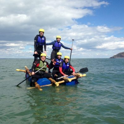 Raft Building Exmoor